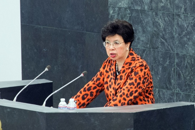 Margaret Chan, Director-General of the World Health Organization (WHO). UN Photo/Loey Felipe