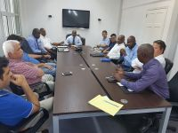 The Chamber of Commerce & Industry coordinated meeting with business Association representatives and the Fire Department/Office of Disaster Management representatives.