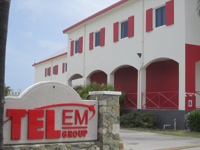 TelEm Headquarters, Pond Island, Sint Maarten (File photo)