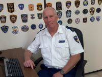 Chief Inspector Rob Appelhof from Police Academy in the Netherlands.
