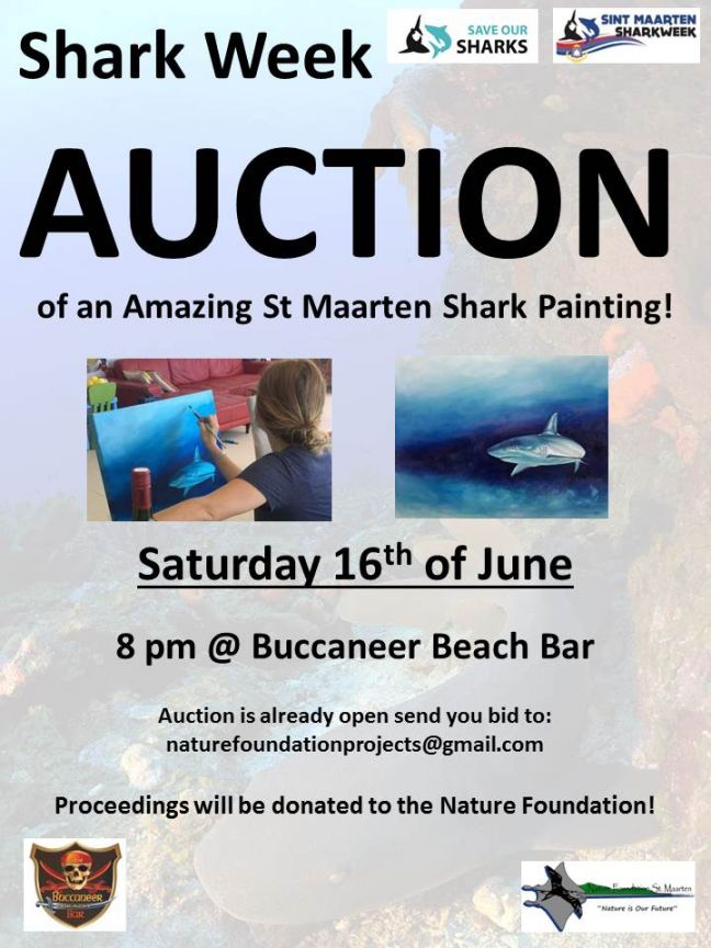 Nature Foundation Organizes Shark Week Rum Tasting at Buccaneer Beach Bar on Saturday