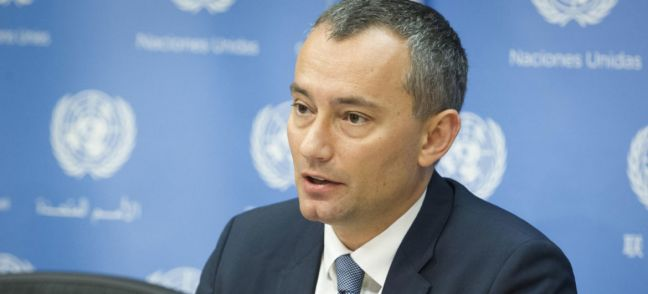 UN Photo/Loey Felipe Nickolay Mladenov, UN Special Coordinator for the Middle East Peace Process. (file)
