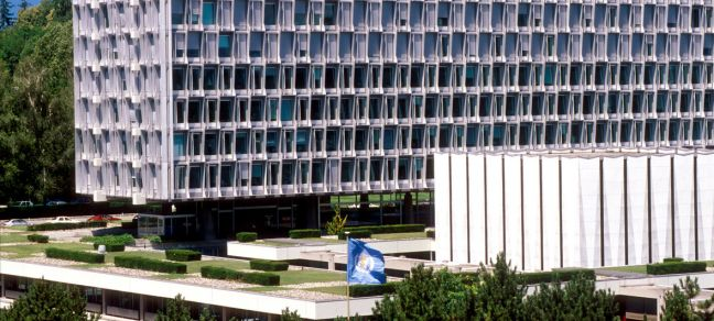 WHO WHO Headquarters in Geneva.
