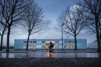 The school is located in Amsterdam's port area. Photo: Olivier Middendorp via HH