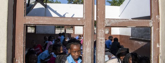 UN Photo/Eskinder Debebe Some schools in Mozambique were able to stay open in the aftermath of Cyclone Idai (file)