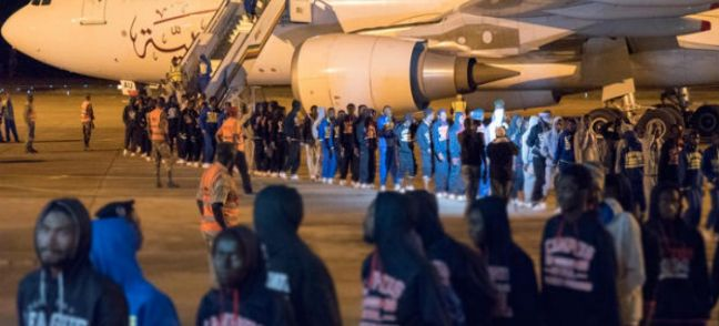 UN Migration Agency (IOM) In November 2017, IOM assisted 243 Guinean migrants in returning home from Libya under its Voluntary Humanitarian Return programme.