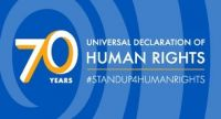 Romeo Marlin acknowledges 70th Anniversary Universal Declaration of Human Rights