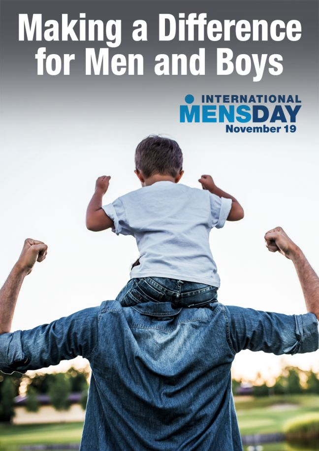International Men's Day 2019 sparks Man-2-Man discussion