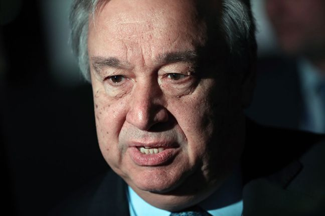 United Nations Secretary-General António Guterres (file). Photo: TASS/ UN DPI
