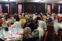 About 250 Libyan women, who gathered in the capital Tripoli, listen to a briefing by Special Representative and head of the UN Support Mission in Libya (UNSMIL) Bernardino León. Photo: UNSMIL