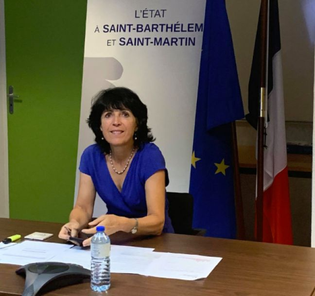 Prefect Sylvie Feucher (file photo)