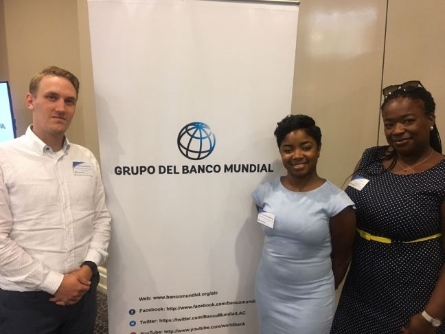 From left to right: Thijn Laurensse, Procurement Specialist, Interim Recovery Committee, Tytania Archangel, Procurement Support & Olivia Lake, Procurement Specialist, Interim Recovery Committee.