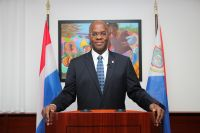 His Excellency Governor Eugene Holiday