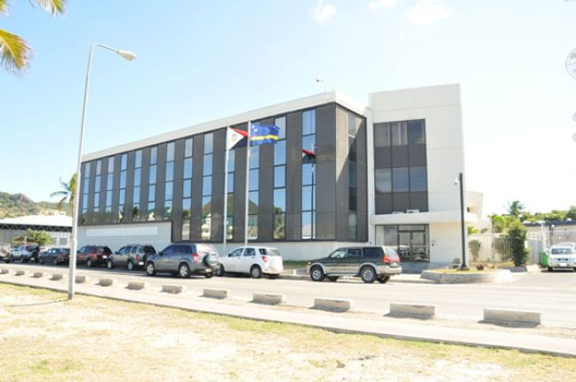 CBCS Sint Maarten headquarters.  (File photo)