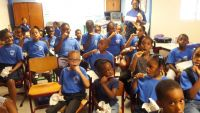 Ministry VSA oral health presentations at two of the country's primary schools for Grade 2 pupils.
