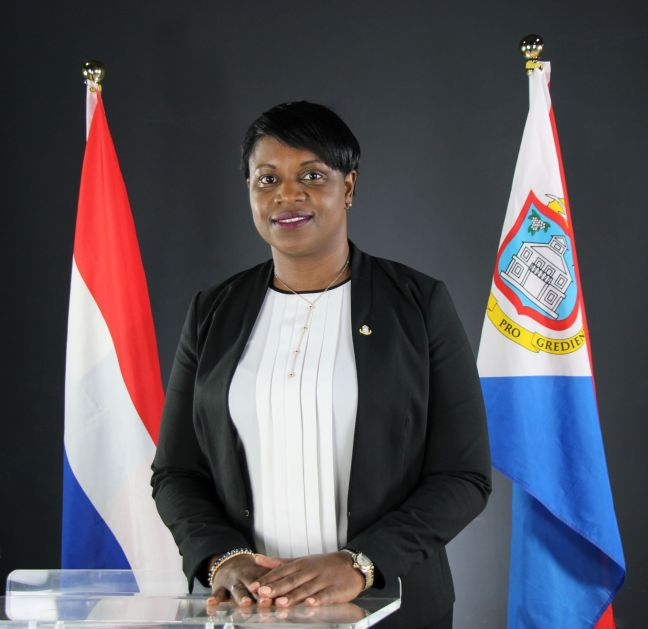 Prime Minister Hon. Leona Romeo Marlin, Chairlady of the EOC