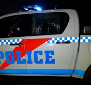Police vehicle damaged during routine motor bike controls. 10 Scooters confiscated, two arrests and seven fines issued