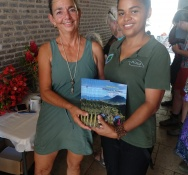 """""""Hiking on St. Eustatius"""" a Tropical Open-Air Museum by Author Marion Schroen"""