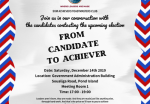 SXM Achievers Club invites public to Engagement Session with Election Candidates at 5.00PM