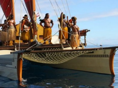 FROM THE FIELD: Sailing a traditional and sustainable path in Fiji's tropical waters