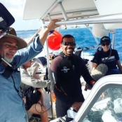 German Television Crew on Island to Film Nature Foundation Conservation Activities