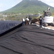 Statia completes first of two large retention infiltration ponds