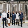 Minister Lawrence visits local brewery. Aims to promote local production