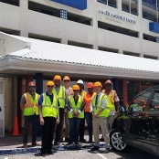 Johnson, Lee, Giterson & De Weever visit Flamingo and Royal Palm hotels