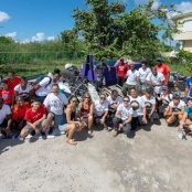 3,144 POUNDS OF TRASH COLLECTED DURING ENGAGE CARIBBEAN GEMS TRASH RUN