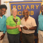 Rotary Club Mid Isle Assist Dow's Musical Foundation