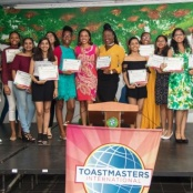 SXM Achievers' Toastmasters Youth Leaders Graduate
