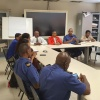 Prime Minister Jacobs visits Emergency Services Staff to Allay Relocating Concerns