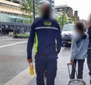 Syrian girl, 11, found alone with a suitcase at Utrecht's main station
