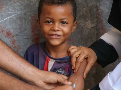 Vaccinations create 'umbrella of immunity' against global measles outbreaks, says UNICEF