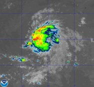 UPDATE: 11th storm of the season is named Tropical Storm Kirk