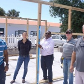 Greenhouse being built for senior citizens