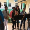 Quintet of young artists perform at the library