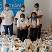 UTS undertakes Beach Clean-up & Food & Clothing Drive