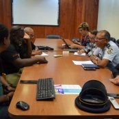 First meeting between Carnival Foundation and Police in preps for Carnival 2020
