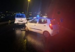Accident on A.J.C Brouwers road Sunday night. Passengers not wearing seat belts