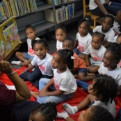 Library Hosted a Successful Story Time Easter Egg Hunt