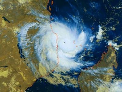 Aid preparations gear up as Mozambique braces for second massive storm