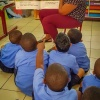 Rotary Club of St. Martin Sunset reads at schools