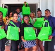NAGICO distributes over 2,500 free reusable shopping bags island wide