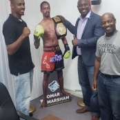 Ortega and Baker says Sports Tourism a niche for the country. Welcomes Kickboxing Pre-St. Maarten Day Event