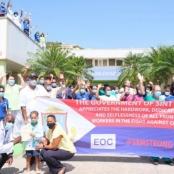 Government of St. Maarten Hosts Frontline Heroes Appreciation Tour