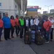 St. Maarten Rotarians welcome District Governor