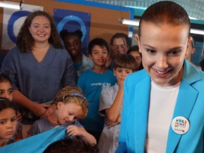 World Children's Day: Millie Bobby Brown to #GoBlue as new UNICEF Goodwill Ambassador