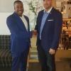 """Minister Johnson visits St. Maarten House says """"strengthening TEATT's NL link is vital"""