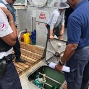 Large Scale Joint Border Controls of 26 Vessels at Three Ports of Entry
